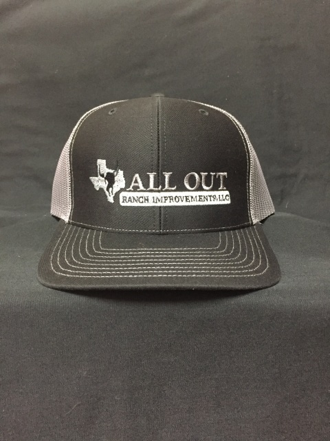 All Out Ranch Logo Caps